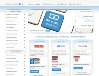 girokonto-vergleich24.org screenshot