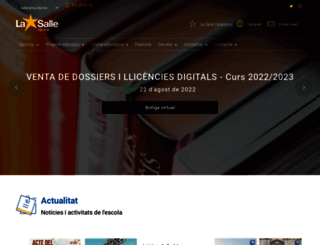 girona.lasalle.cat screenshot