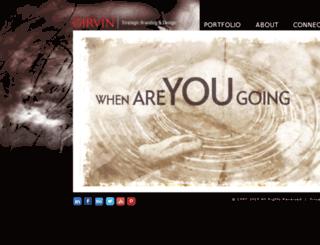 girvindesign.com screenshot