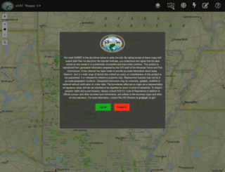 gis.agfc.com screenshot