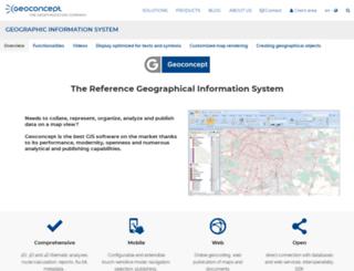 gis.geoconcept.com screenshot