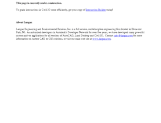 gis.langan.com screenshot