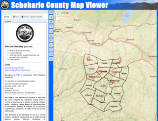 gis.schohariecounty-ny.gov screenshot