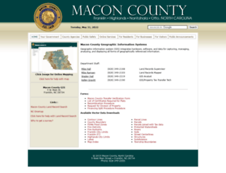 gis2.maconnc.org screenshot