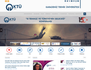 gislab.ktu.edu.tr screenshot