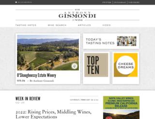 gismondionwine.com screenshot
