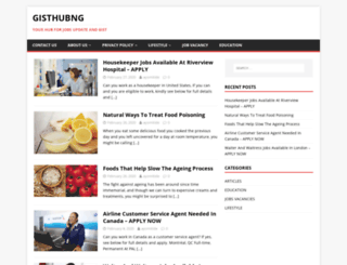gisthubng.com screenshot