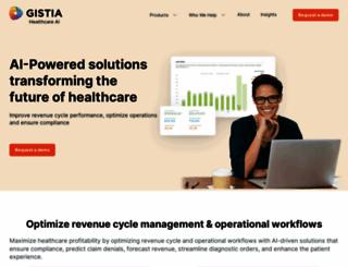 gistia.com screenshot