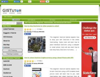 gistutor.com screenshot