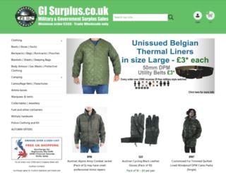 gisurplus.co.uk screenshot