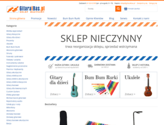 gitaraibas.pl screenshot