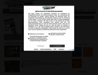 gitarren-forum.de screenshot