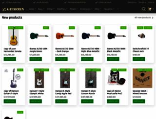 gitarren.se screenshot