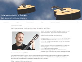 gitarrenunterricht-frankfurt.de screenshot