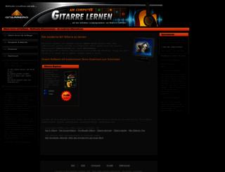 gitarrero-beginner.de screenshot