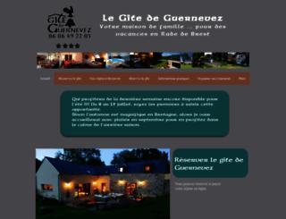 gite-guernevez.fr screenshot