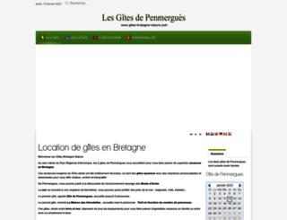 gites-bretagne-nature.com screenshot