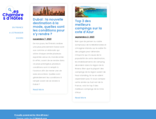 gites-chambreshotes.com screenshot