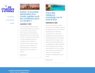 gites-chambreshotes.com screenshot