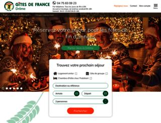 gites-de-france-drome.com screenshot