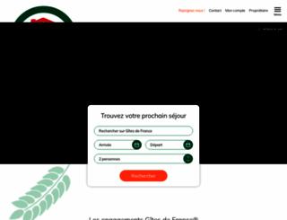 gites-de-france-paca.com screenshot
