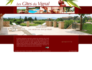 gites-en-ardeche.com screenshot