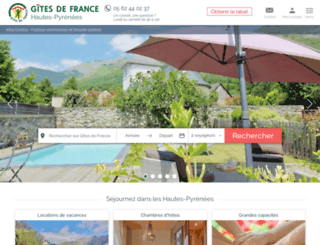 gites-france-65.com screenshot