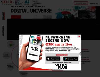 gitex.com screenshot