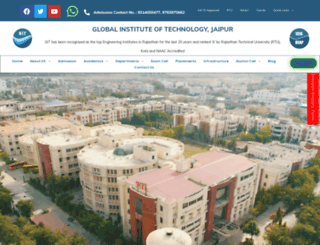 gitjaipur.com screenshot