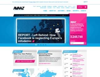 gitlab.avaaz.org screenshot