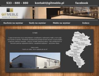 gitmeble.pl screenshot