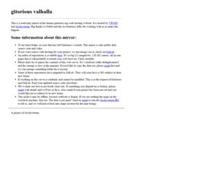 gitorious.org screenshot