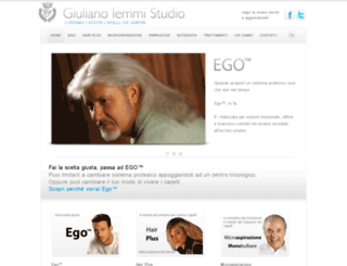 giulianoiemmistudio.com screenshot