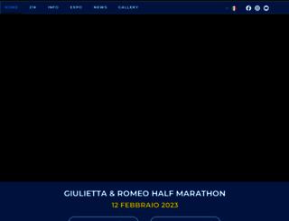 giuliettaeromeohalfmarathon.it screenshot