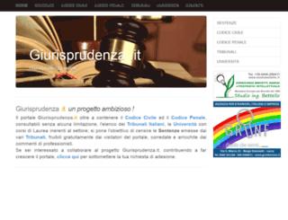 giurisprudenza.it screenshot