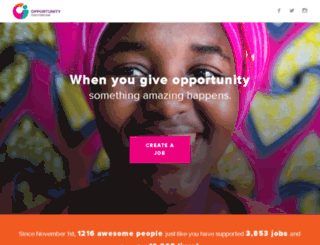 give.opportunity.org screenshot