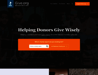 give.org screenshot
