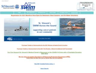 give.stvincents.org screenshot