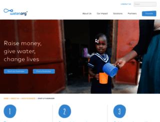 give.water.org screenshot