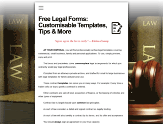 giveawaylegalforms.com screenshot