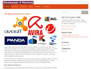 giveaways4mommy.com screenshot