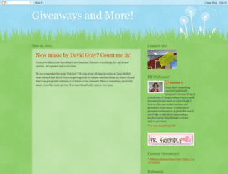 giveawaysforyou.blogspot.com screenshot