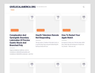 givelocalamerica.org screenshot