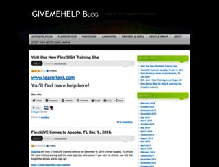 givemehelp.wordpress.com screenshot