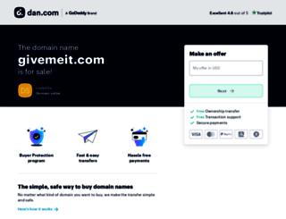 givemeit.com screenshot