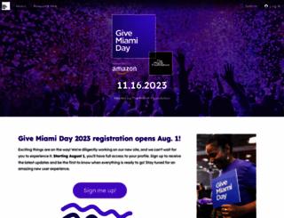 givemiamiday.com screenshot