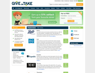 giveortake.com screenshot