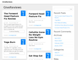 givereviews.com screenshot