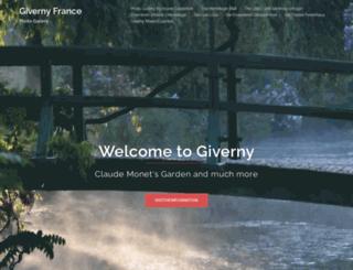 giverny-france.com screenshot