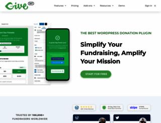 givewp.com screenshot